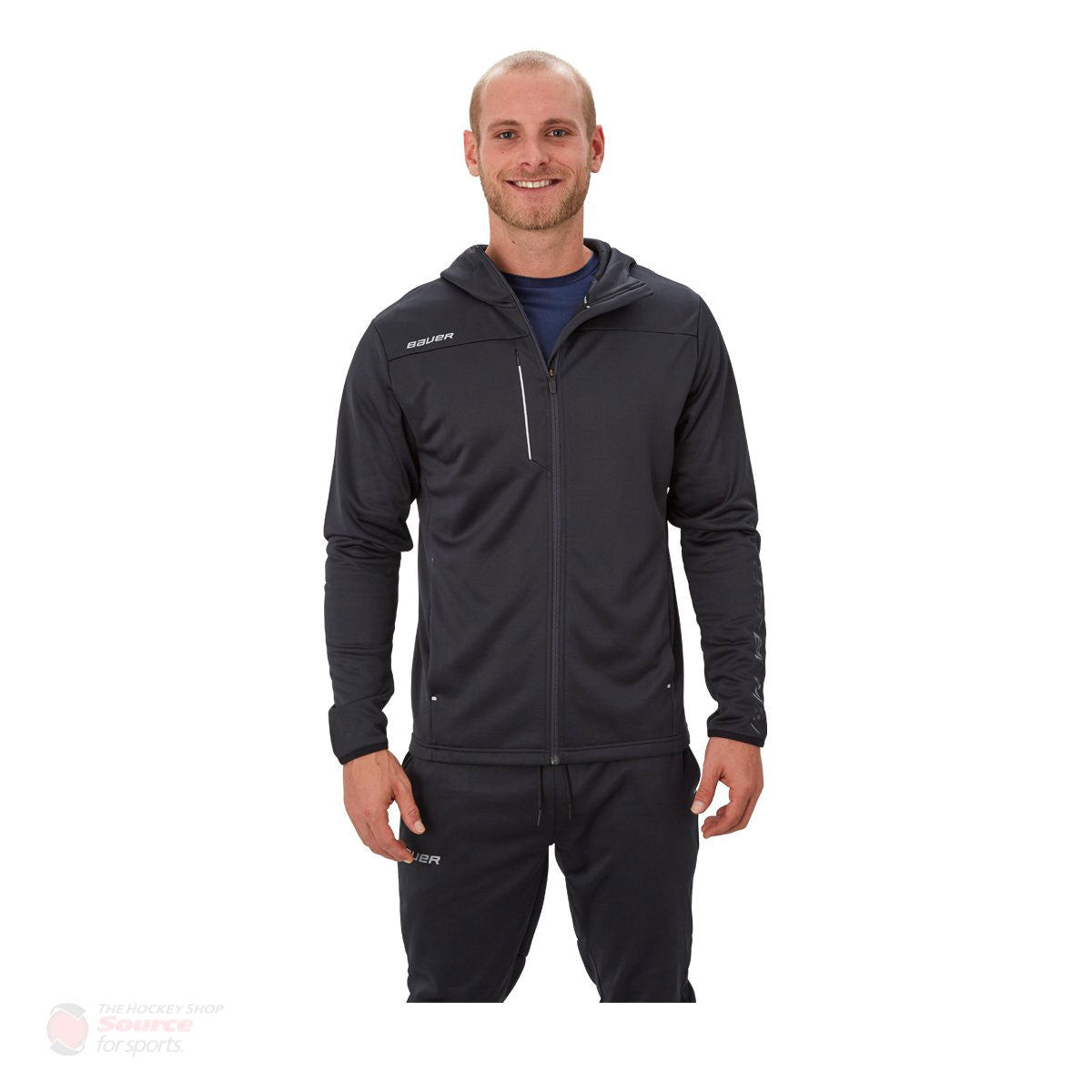 Bauer Vapor Fleece Zip Junior Hoody