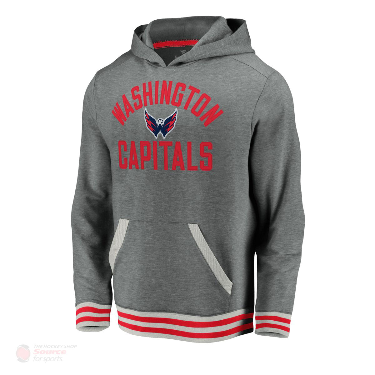 Washington Capitals Fanatics Upperclassmen Vintage Pullover Mens Hoody