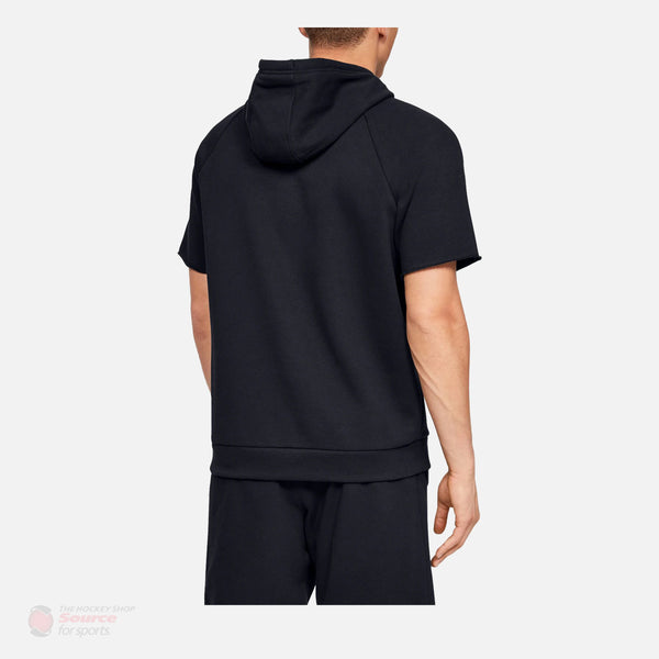 Under Armour Rival Fleece Logo Shortsleeve Pullover Mens Hoody