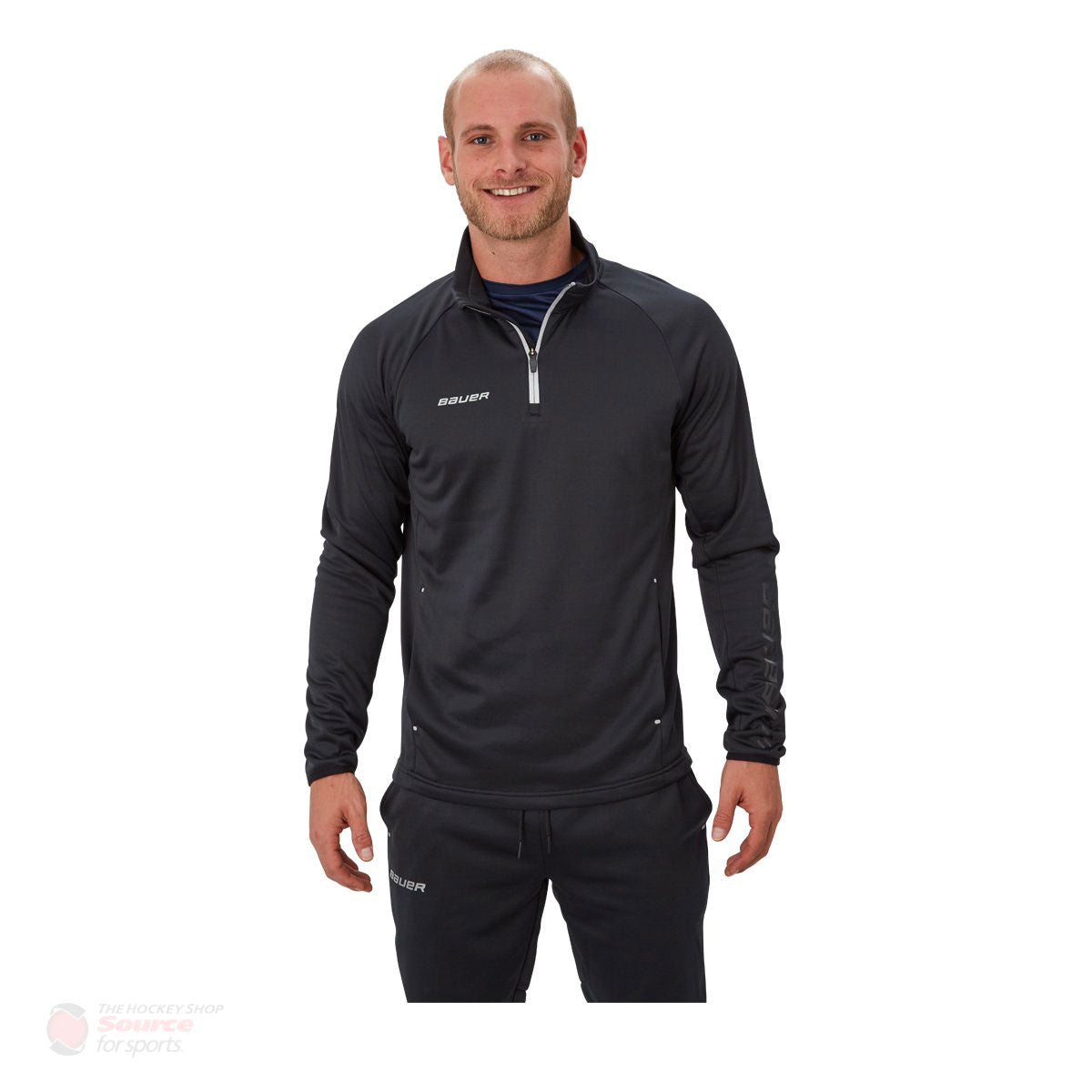 Bauer Vapor Fleece Senior 1/4 Zip Jacket