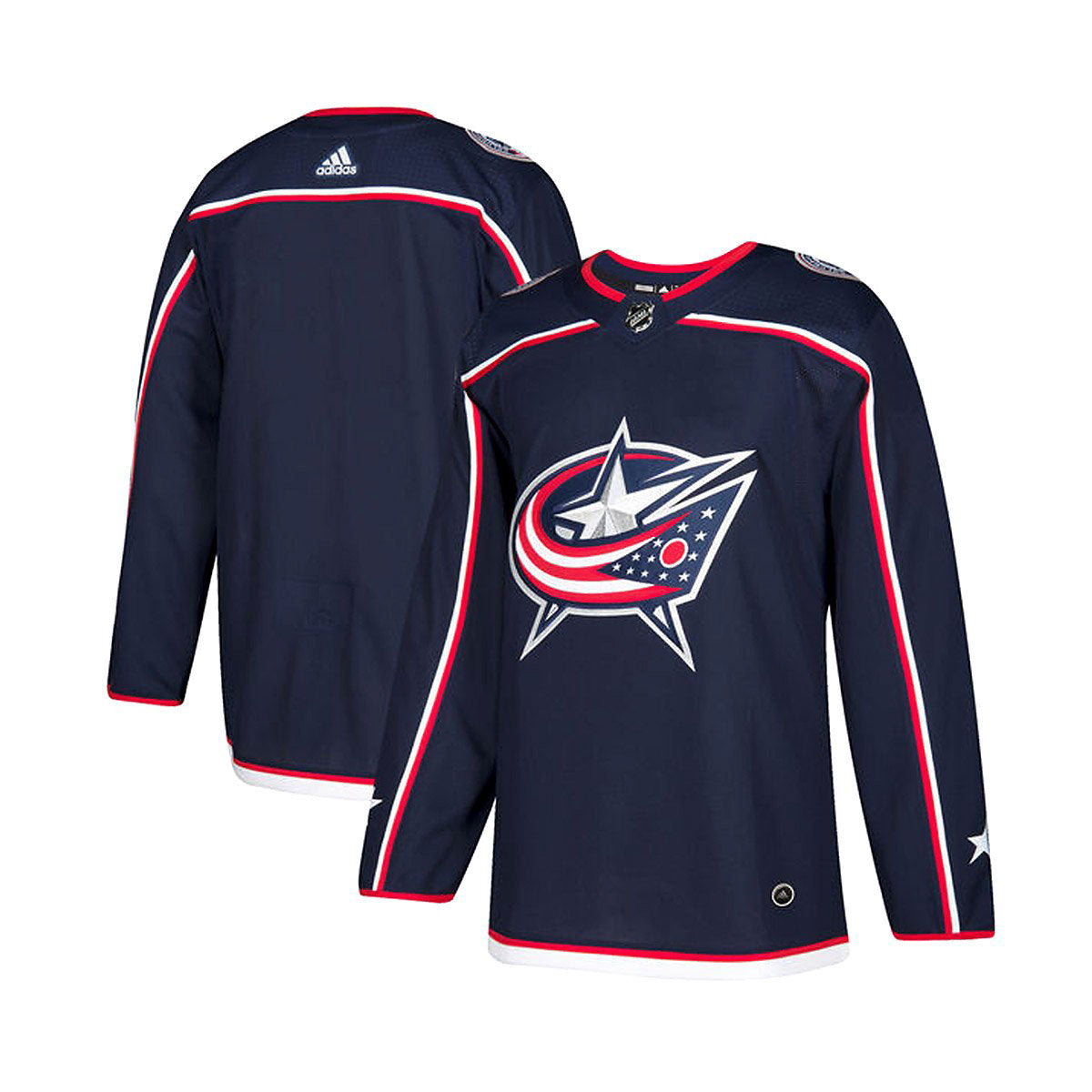 Columbus Blue Jackets Home Adidas Authentic Senior Jersey
