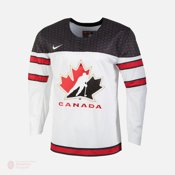 Hockey Canada Nike White Senior Jersey