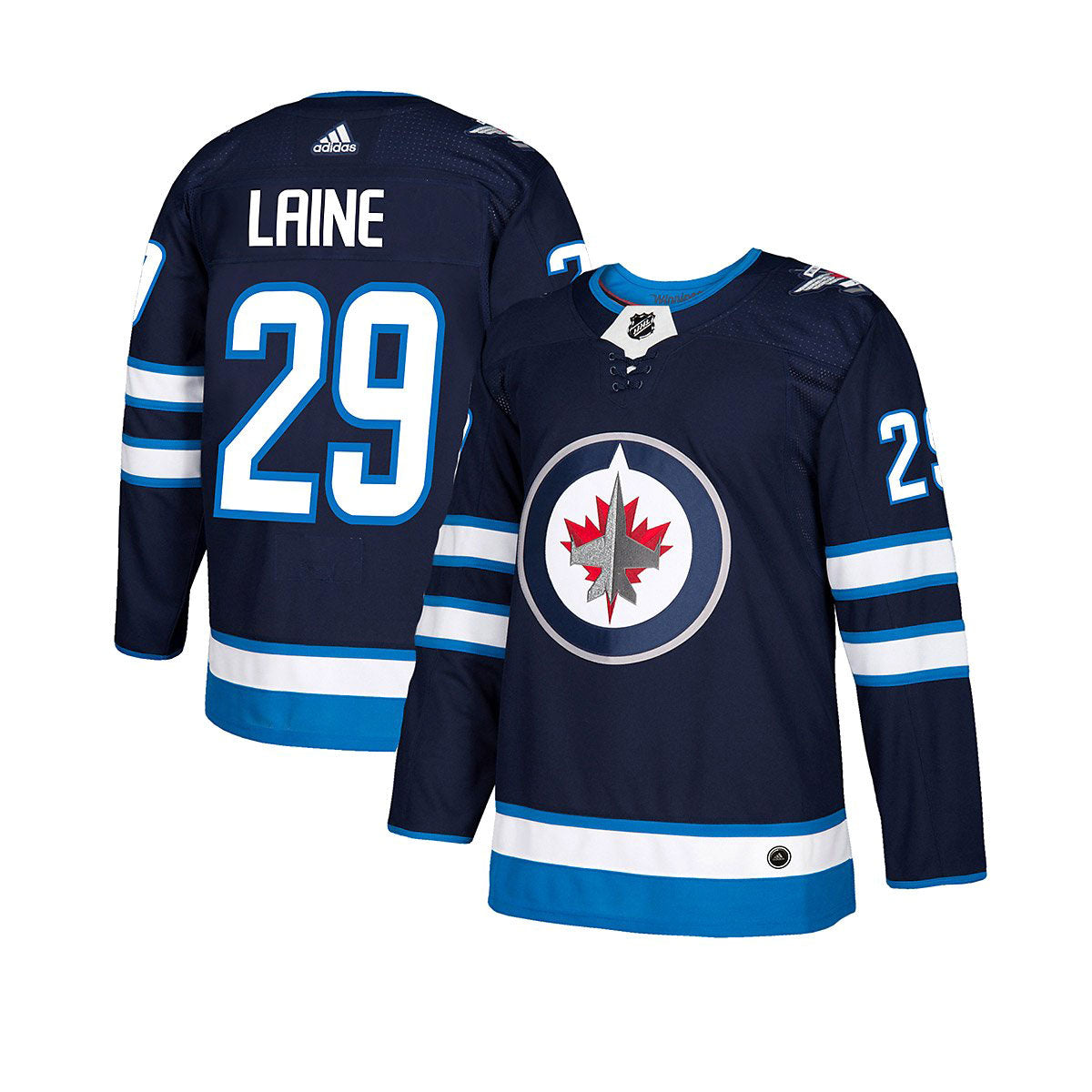 big sale acaa9 7b183 Winnipeg Jets Adidas Authentic Senior Patrik Laine Jersey