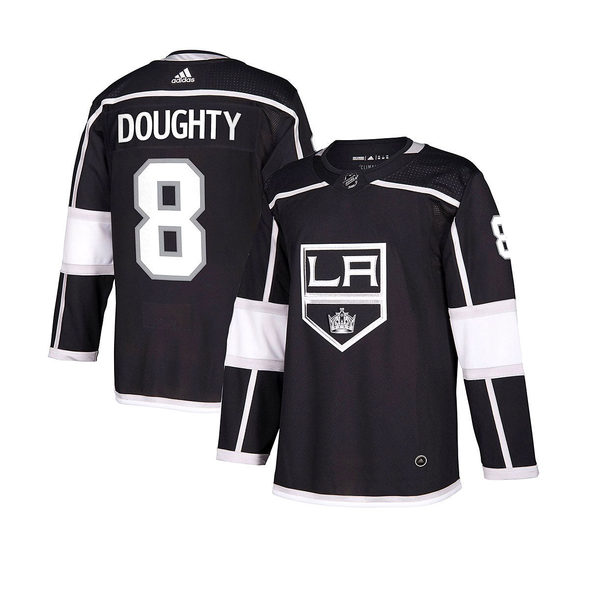 Los Angeles Kings Home Adidas Authentic Senior Jersey - Drew Doughty