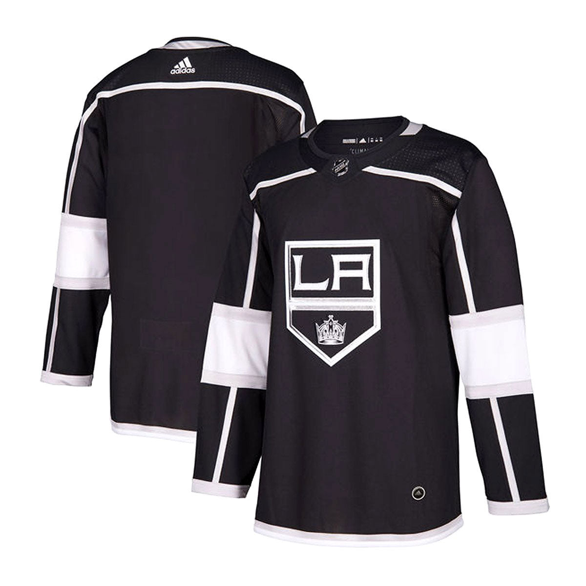 Los Angeles Kings Adidas Authentic Senior Home Jersey