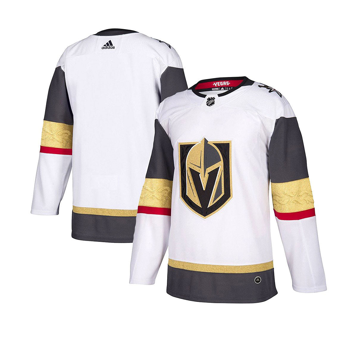 23d15cf0d Vegas Golden Knights Adidas Authentic Senior Away Jersey – The ...