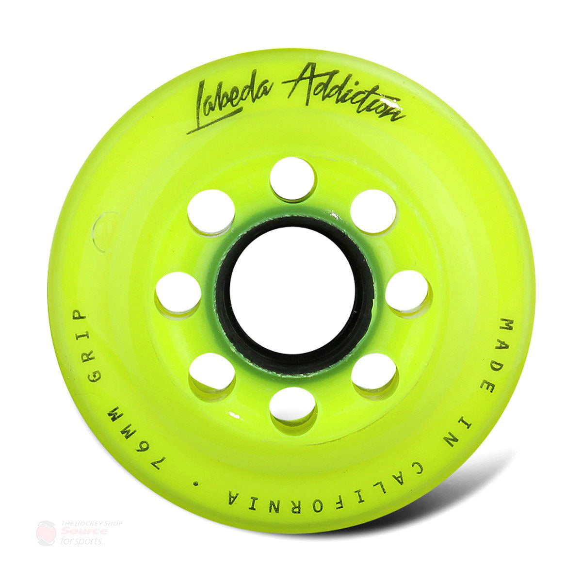 Labeda Addiction Roller Hockey Wheels - Yellow (76A)