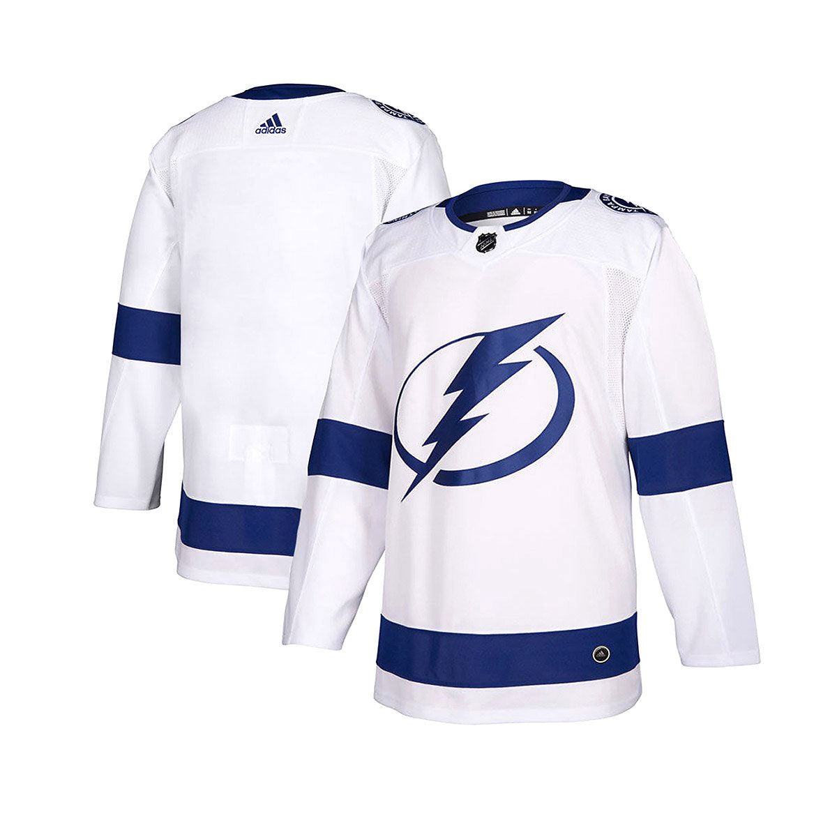 Tampa Bay Lightning Away Adidas Authentic Senior Jersey