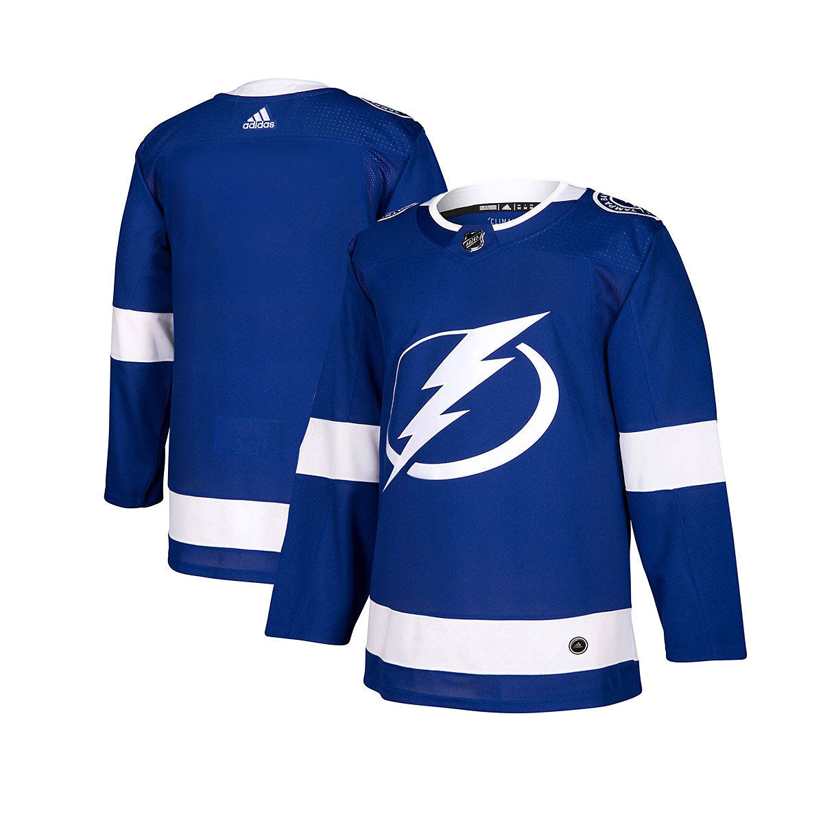 Tampa Bay Lightning Adidas Authentic Senior Home Jersey