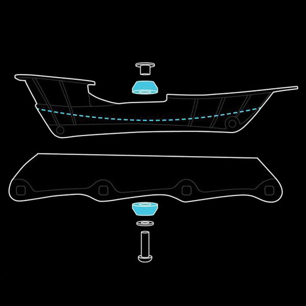 Marsblade Senior Chassis Inline Training Roller Hockey Chassis Diagram Flowmotion Technology
