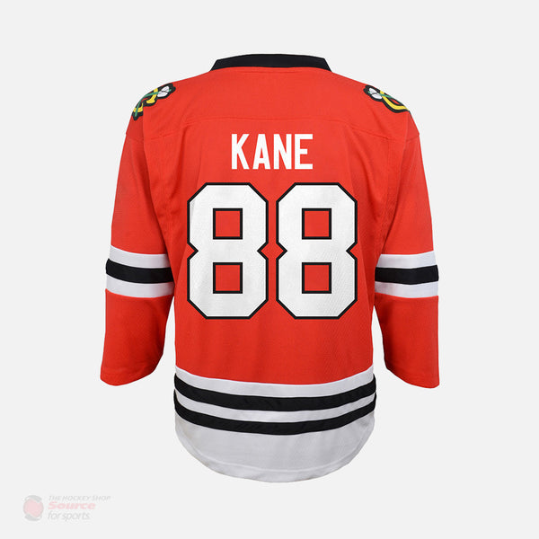Chicago Blackhawks Home Outer Stuff Replica Junior Patrick Kane Jersey