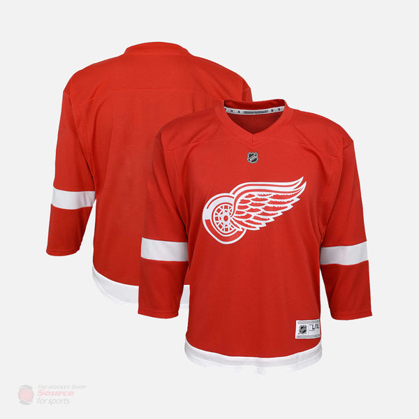 Detroit Red Wings Home Outer Stuff Replica Toddler Jersey