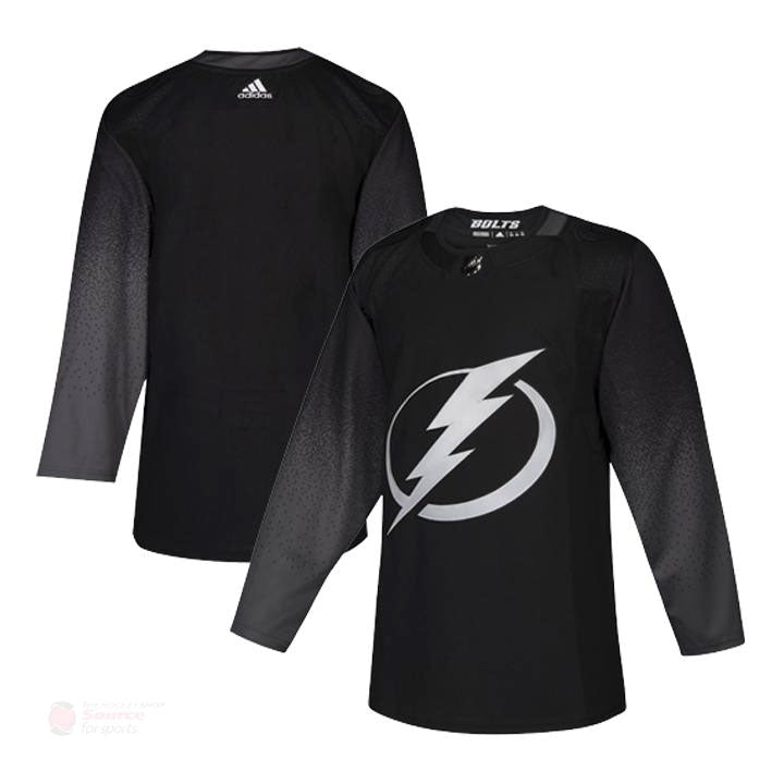 buy online dae57 6d8a3 Tampa Bay Lightning Adidas Authentic Senior Alternate Jersey
