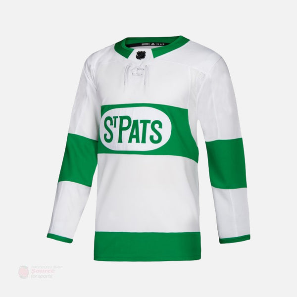 Toronto Maple Leafs 'St. Pats' Adidas Authentic Senior Jersey
