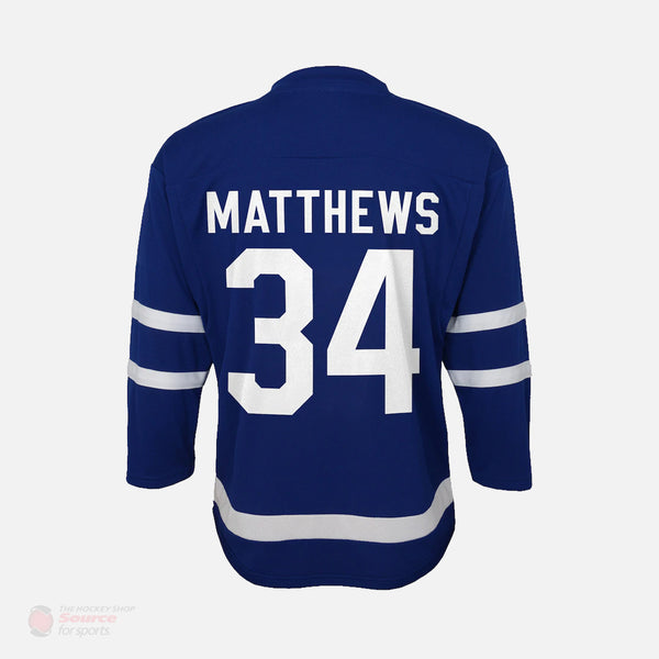 Toronto Maple Leafs Home Outer Stuff Replica Junior Auston Matthews Jersey