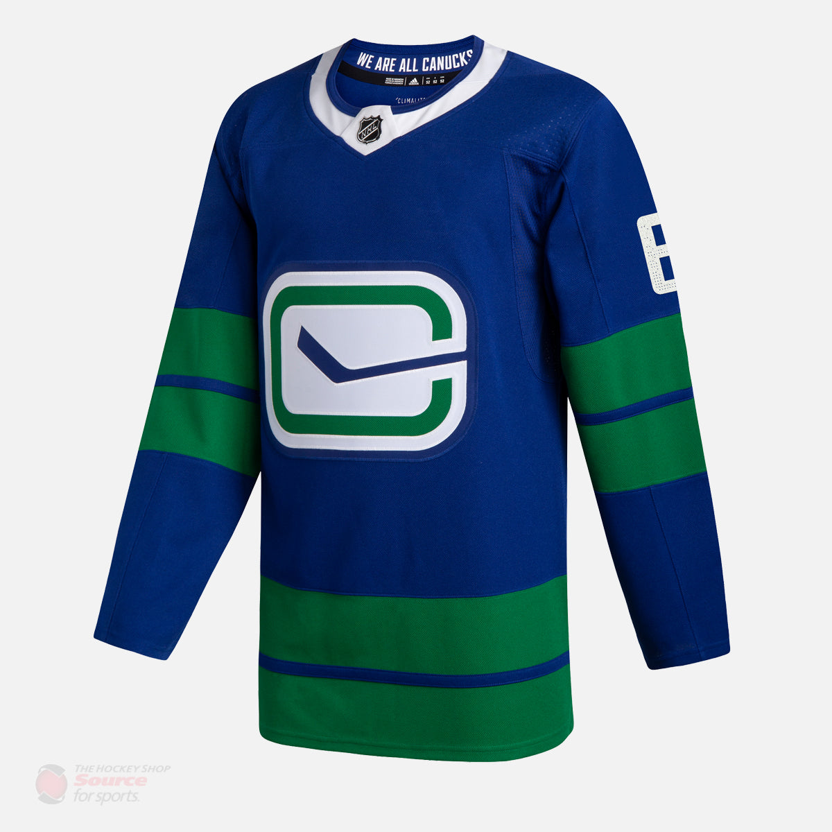 pretty nice debe5 2a6b4 Vancouver Canucks Adidas Authentic Senior Brock Boeser Jersey