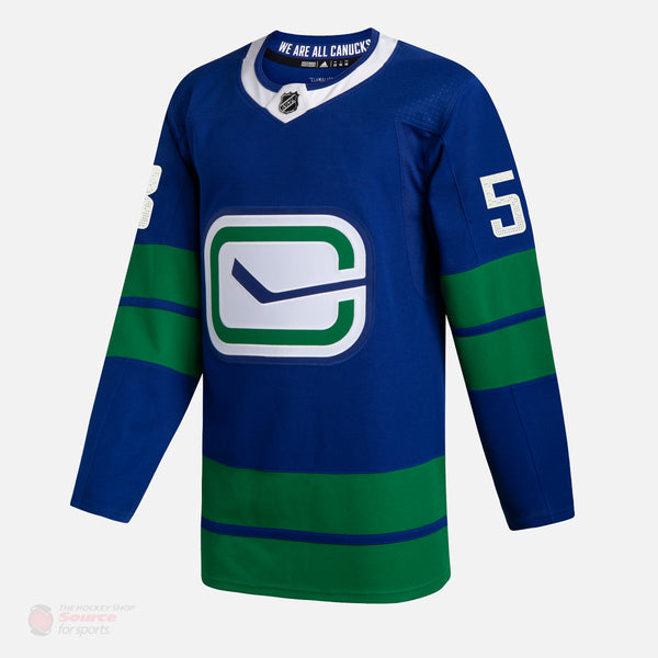 Vancouver Canucks Alternate Adidas Authentic Senior Jersey - Bo Horvat