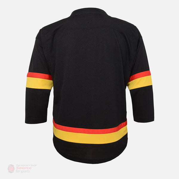 Vancouver Canucks Skate Outer Stuff Replica Youth Jersey