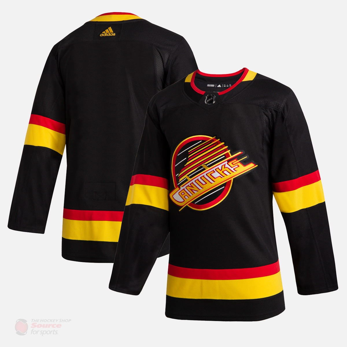 Vancouver Canucks Adidas Authentic Senior Skate Jersey