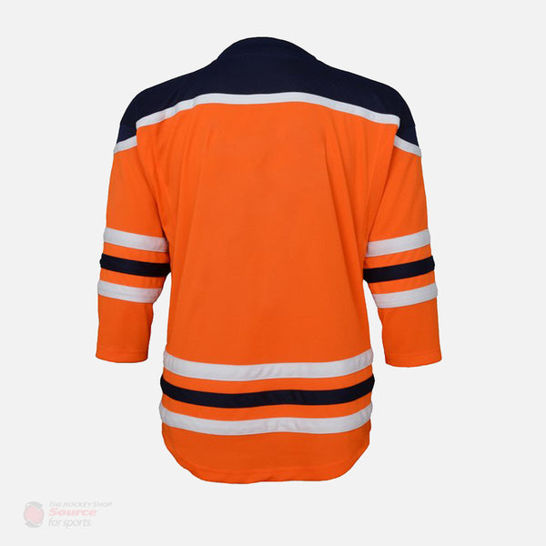 Edmonton Oilers Home Outer Stuff Replica Youth Jersey