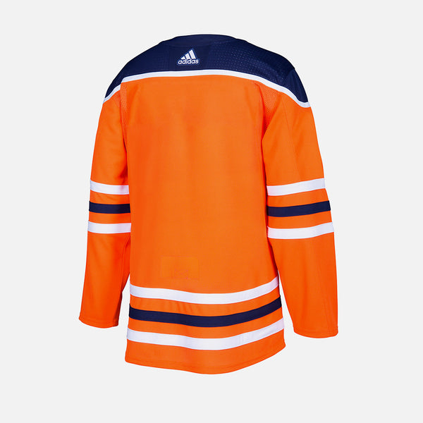 Edmonton Oilers Home Adidas Authentic Senior Jersey