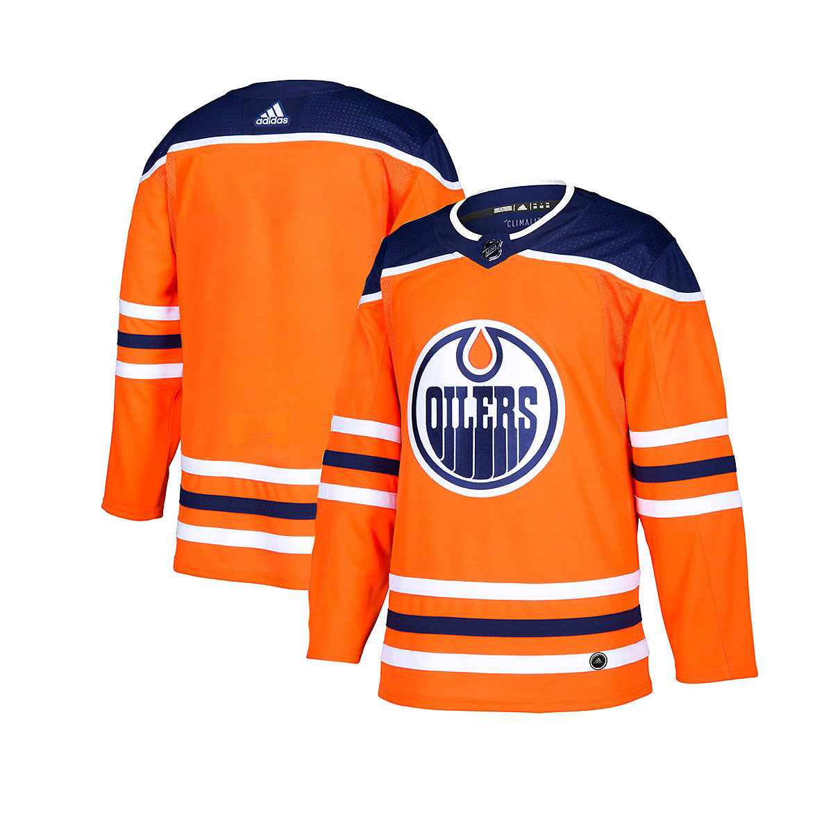 detailed look 9f445 2cb6c Edmonton Oilers Adidas Authentic Senior Home Jersey