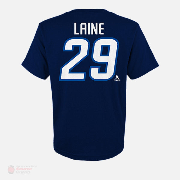 Winnipeg Jets Outer Stuff Name & Number Youth Shirt - Patrik Laine