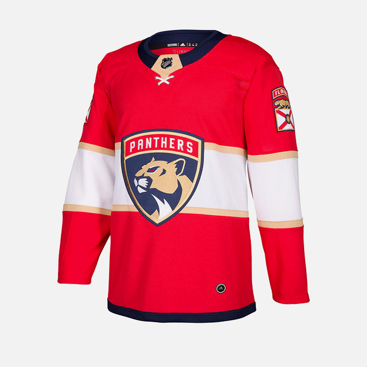 designer fashion a4b77 6e073 Florida Panthers Adidas Authentic Senior Home Jersey