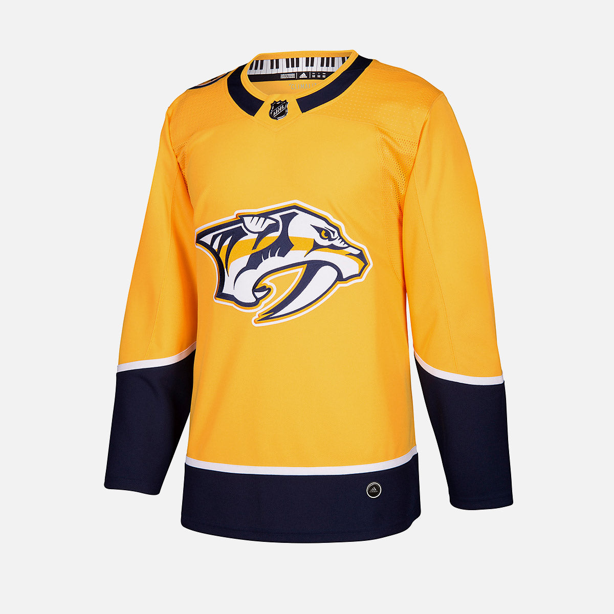 d92a28ee60d Nashville Predators Adidas Authentic Senior Home Jersey – The Hockey Shop  Source For Sports