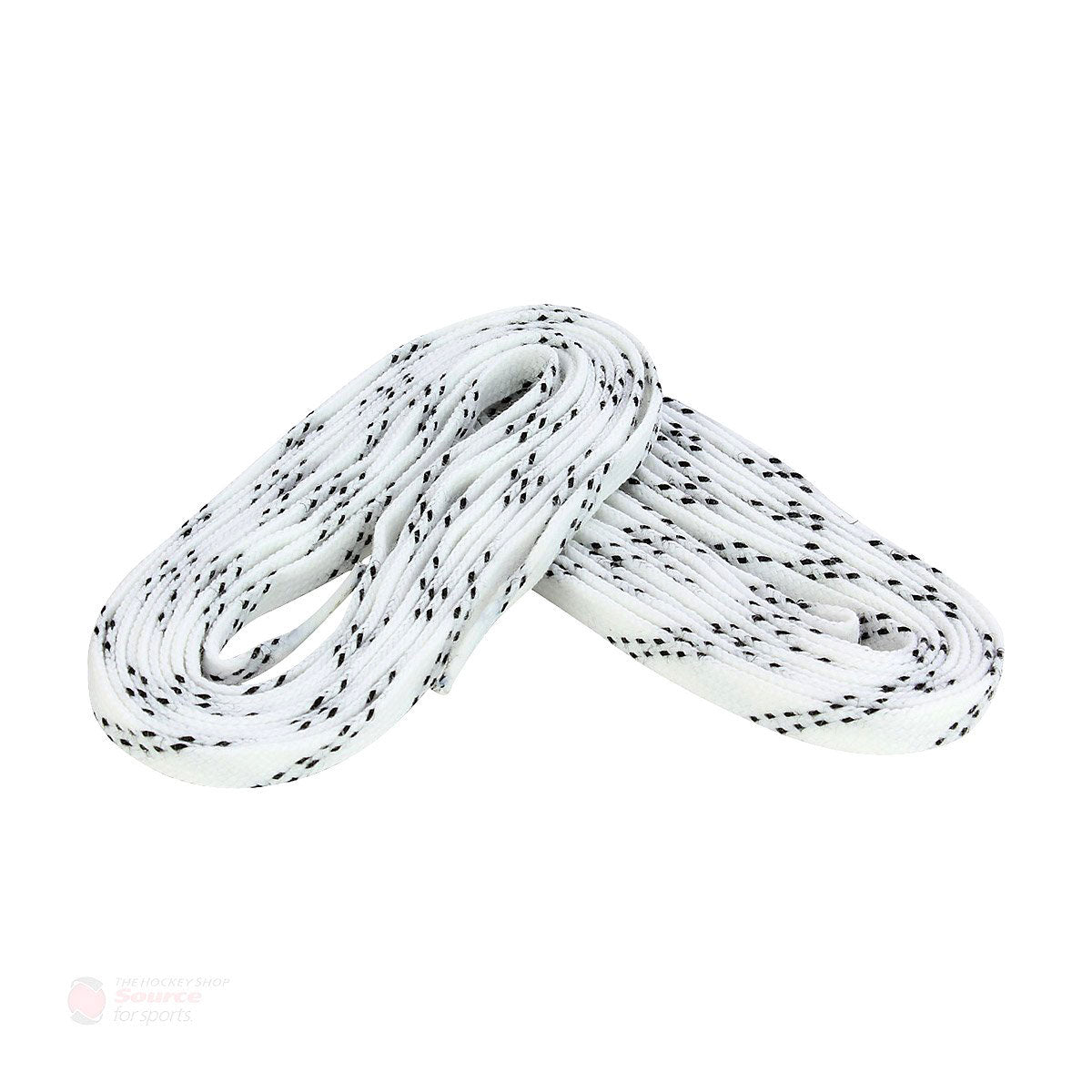 Pro Edge Waxed Laces - White