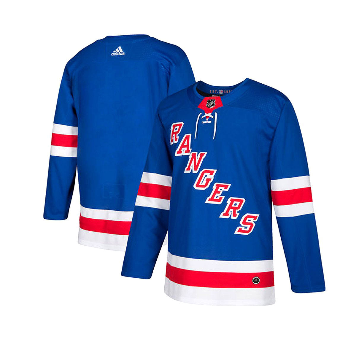 New York Rangers Home Adidas Authentic Senior Jersey