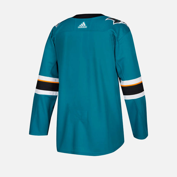 San Jose Sharks Home Adidas Authentic Senior Jersey