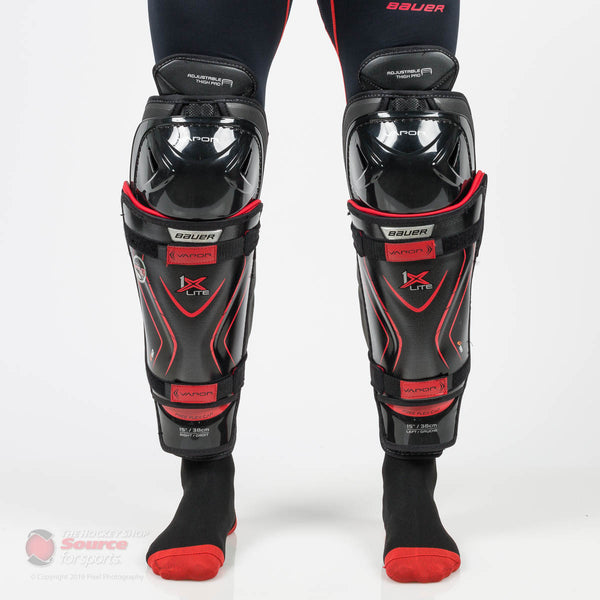 Bauer Vapor 1X Lite Senior Hockey Shin Guards