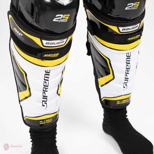 Bauer Supreme 2S Pro Junior Hockey Shin Guards