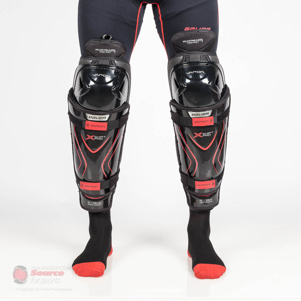 Bauer Vapor X Shift Pro Junior Hockey Shin Guards (2018)