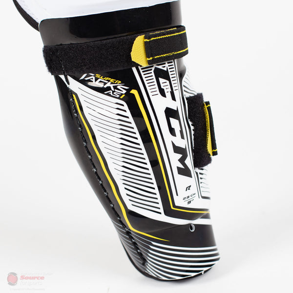 CCM Super Tacks AS1 Youth Hockey Shin Guards