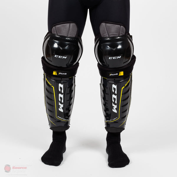 CCM Tacks 9080 Senior Hockey Shin Guards