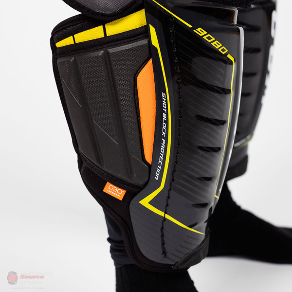 CCM Tacks 9080 Junior Hockey Shin Guards