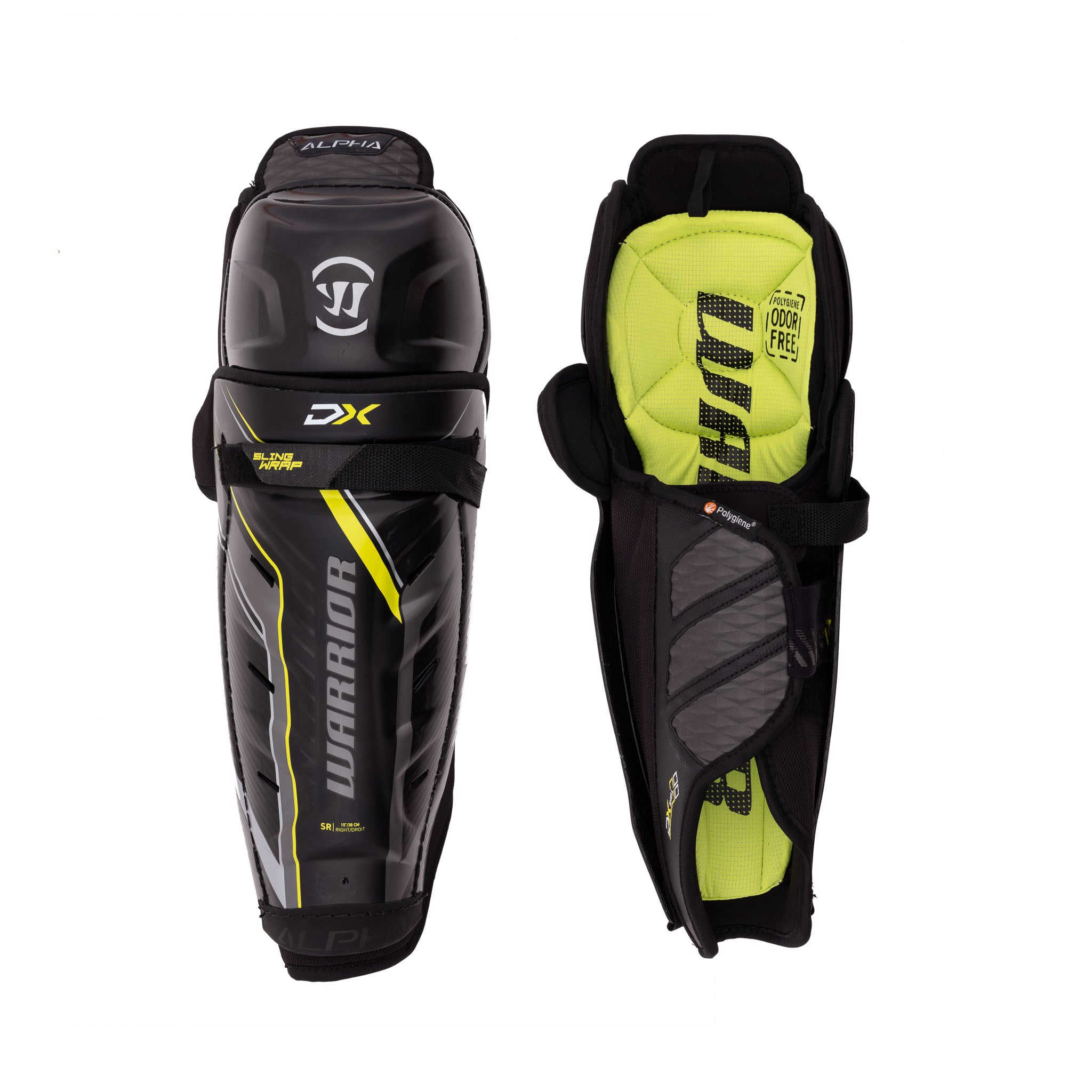 Warrior Alpha DX Senior Shin Guards