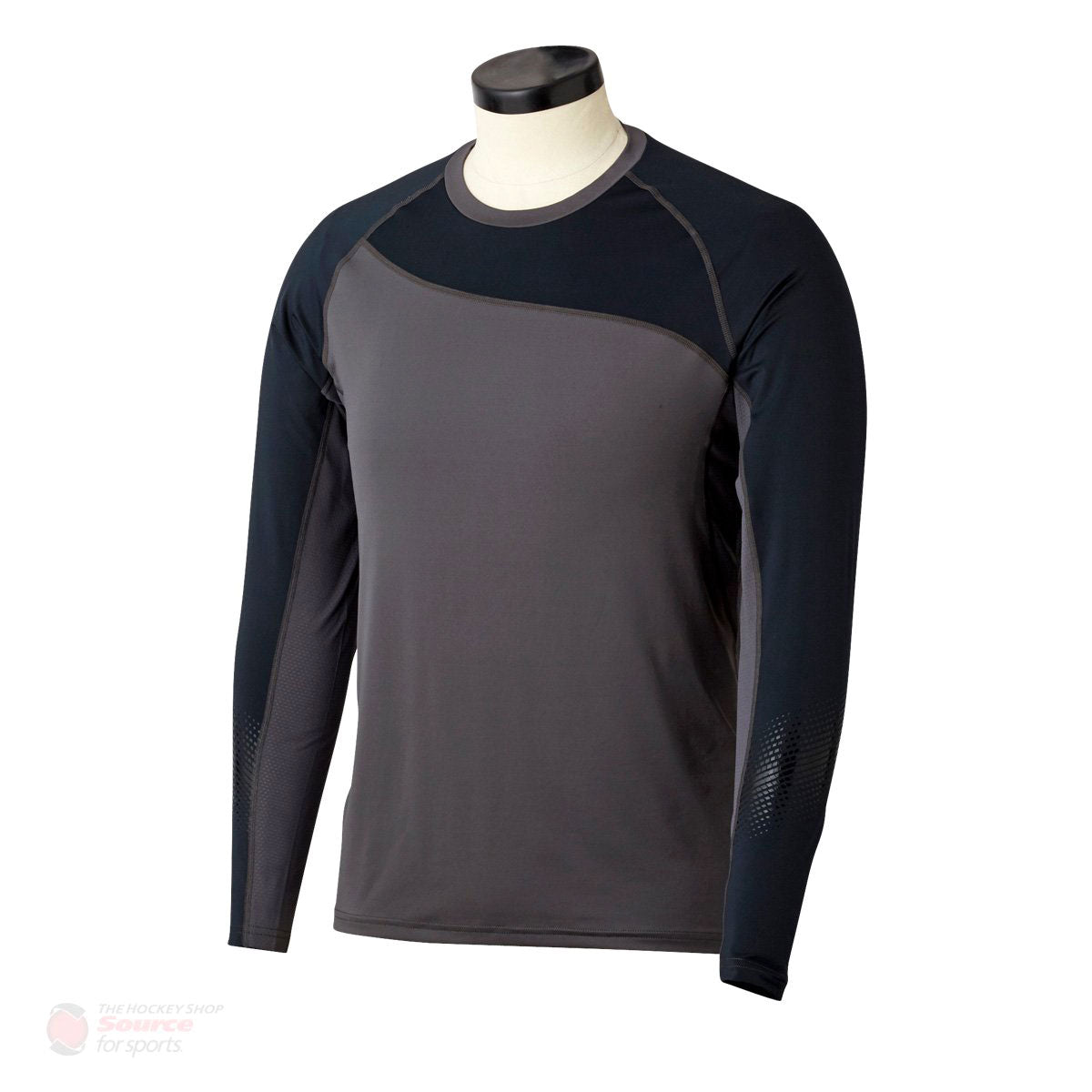 Bauer Pro Grip Longsleeve Junior Baselayer Shirt