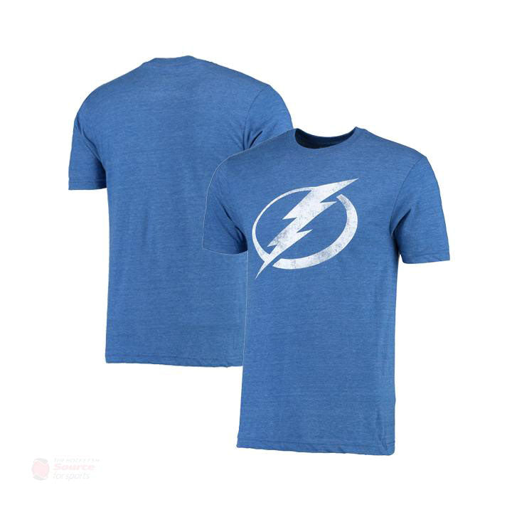 Tampa Bay Lightning Fanatics Distressed Mens Shirt
