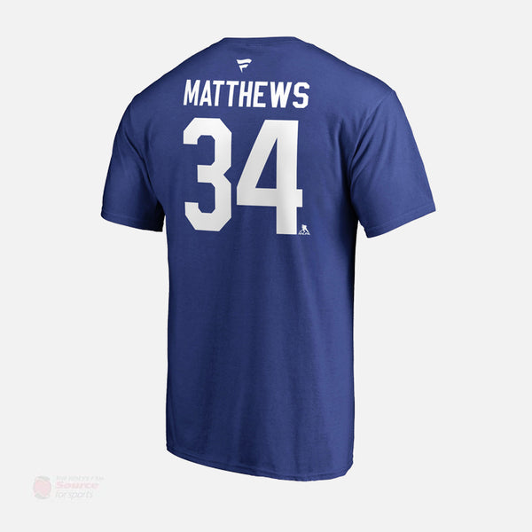 Toronto Maple Leafs Fanatics Authentic Name & Number Mens Shirt - Auston Matthews
