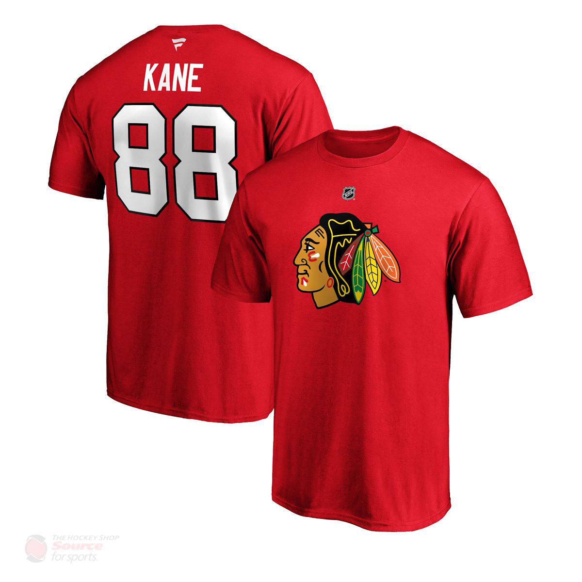 Chicago Blackhawks Fanatics Authentic Name & Number Mens Shirt - Patrick Kane