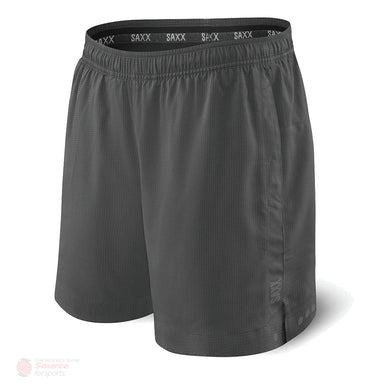 Saxx Kinetic 2N1 Sport Shorts - Dark Charcoal