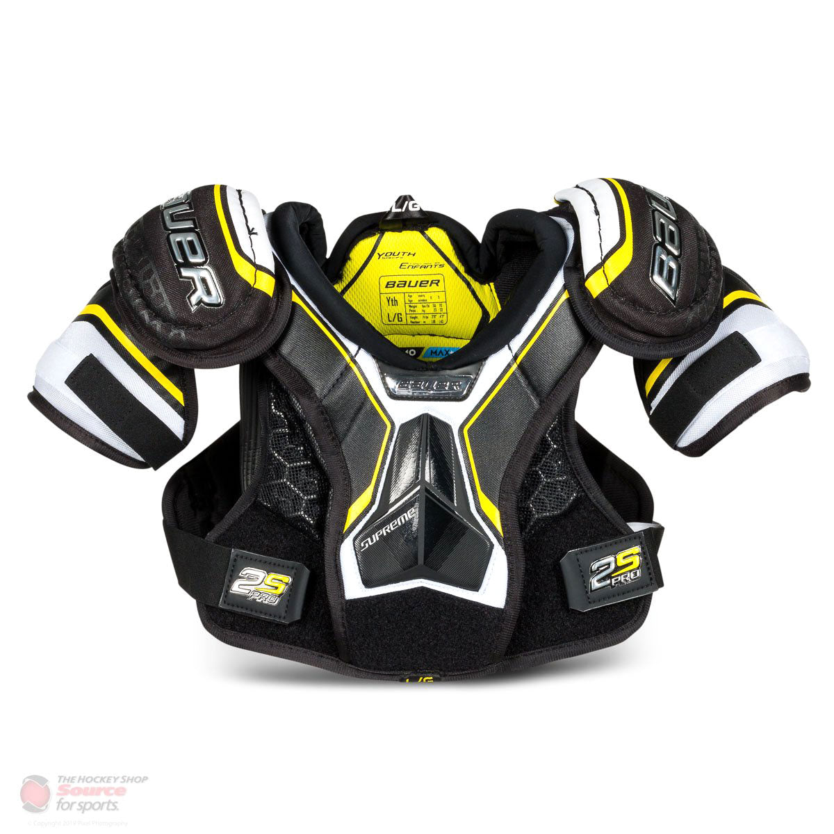 Bauer Supreme 2S Pro Youth Hockey Shoulder Pads