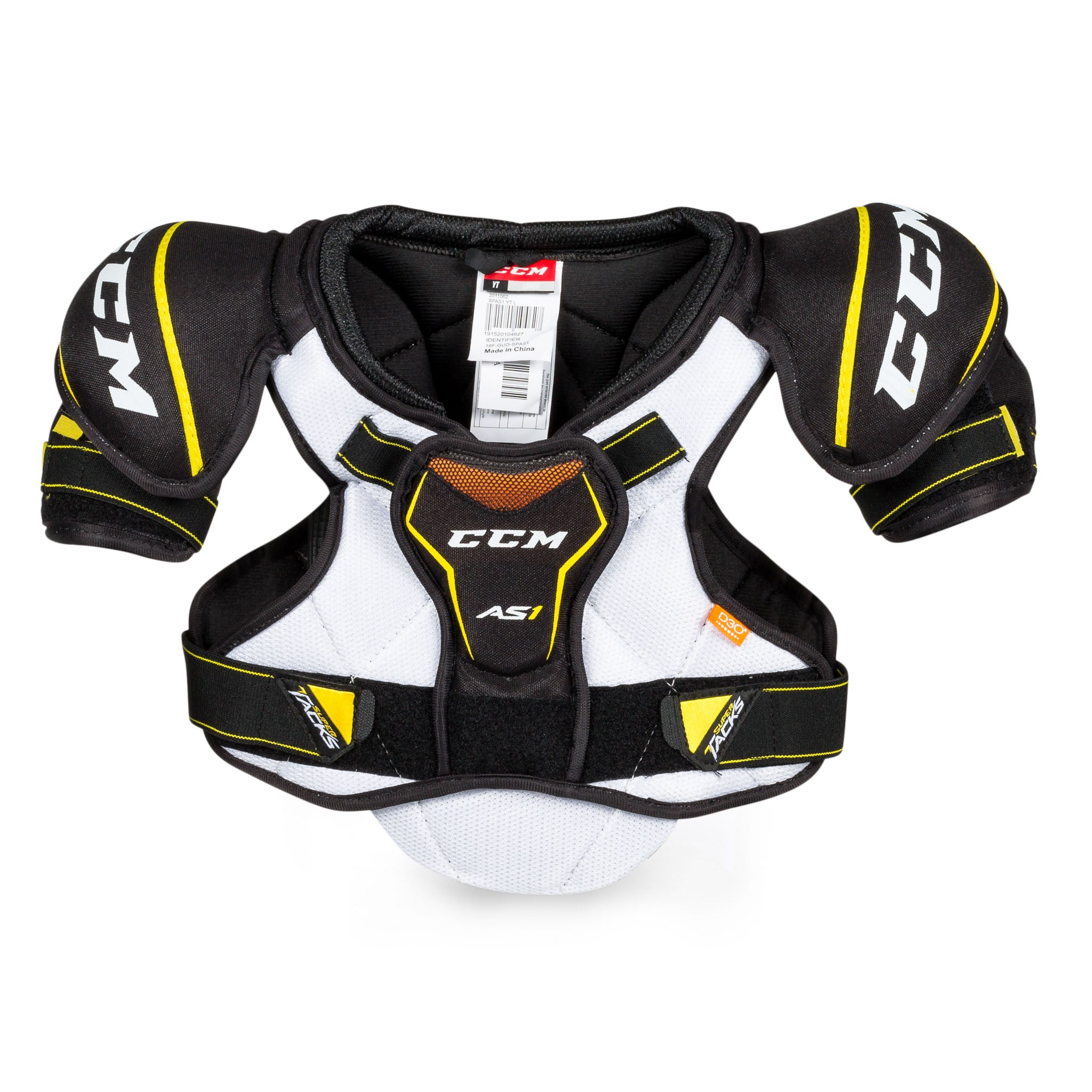 CCM Super Tacks AS1 Youth Hockey Shoulder Pads