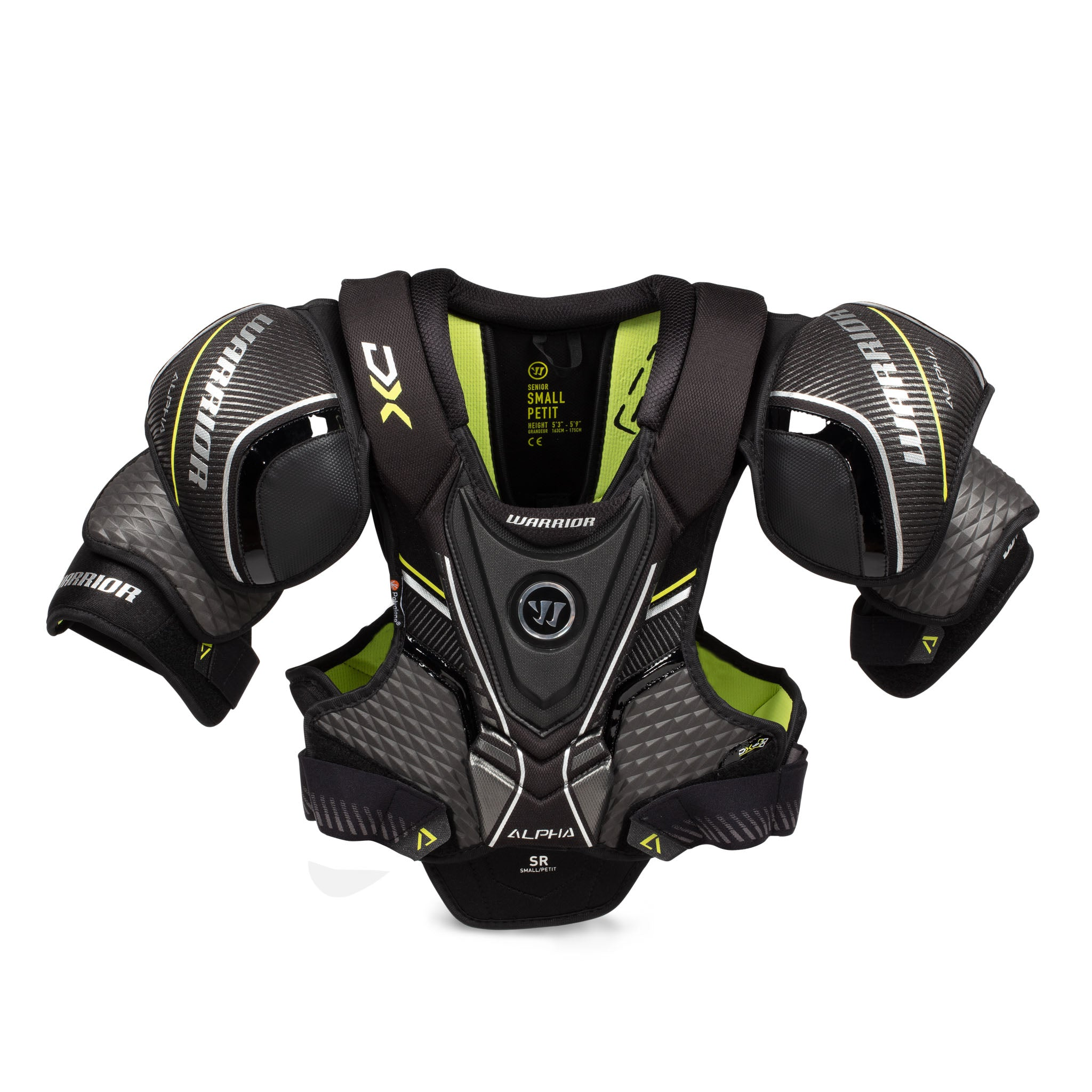 Warrior Alpha DX Senior Shoulder Pads