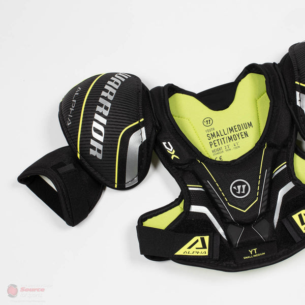 Warrior Alpha DX Youth Hockey Shoulder Pads