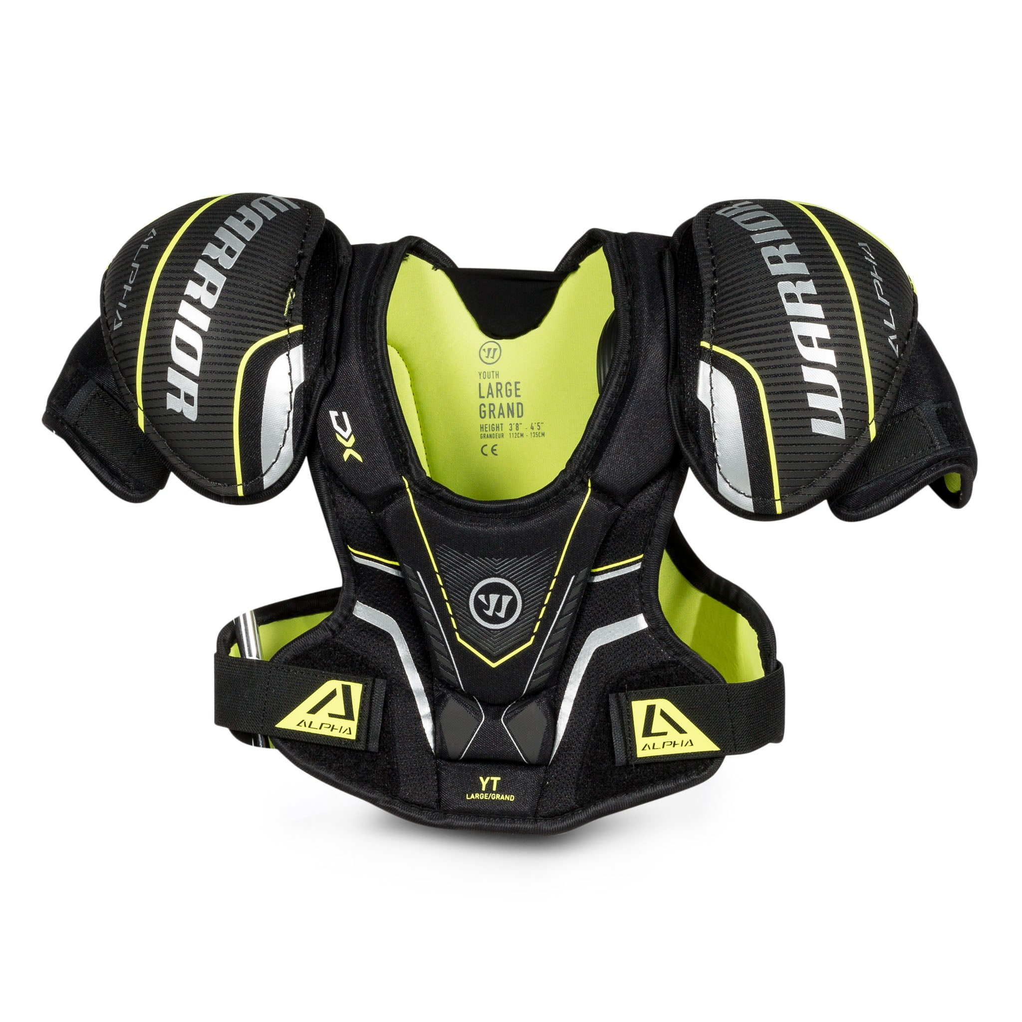 Warrior Alpha DX Youth Shoulder Pads