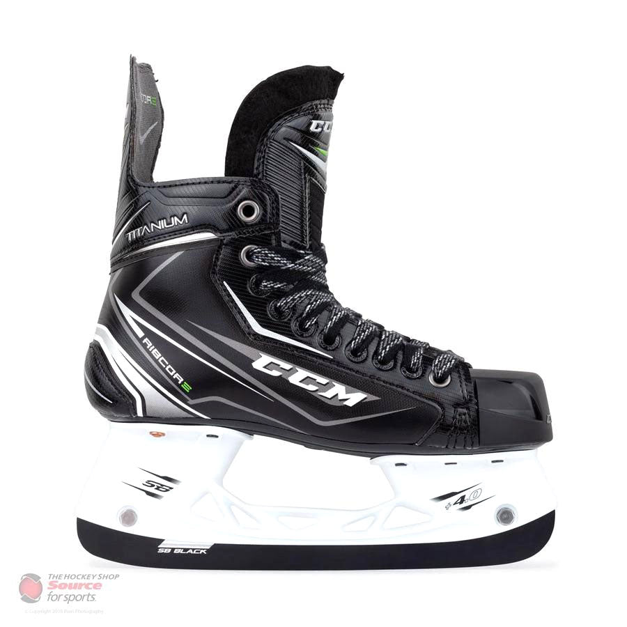 CCM RIBCOR Titanium Junior Hockey Skates (2017)